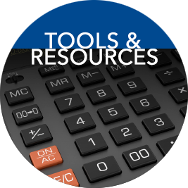 link to Tools and  Resources page